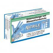 Kesztyű Eh Nitrile Púdermentes 240mm 4mil S   100 Db Kék