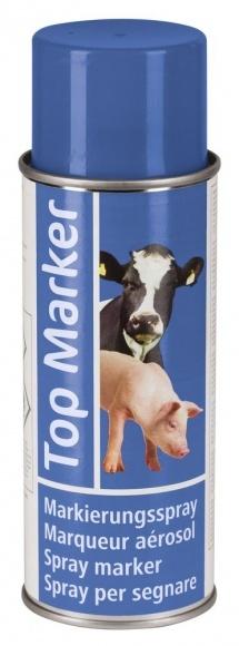 Állatjelölő Spray Topmarker kék 200ml Szvm Sertés