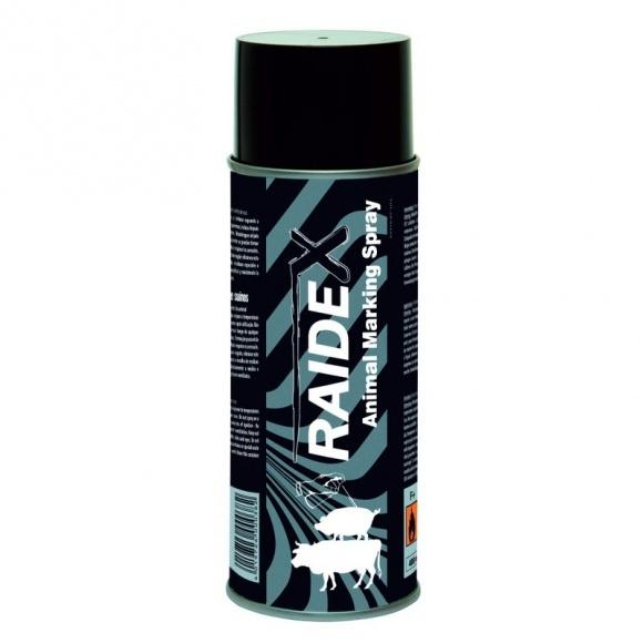 Állatjelölő Spray Raidex Fekete 400ml Szvm Sertés