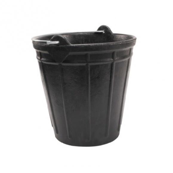 Gumivödör, fekete, 15 L