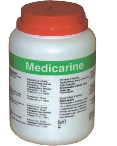 Medicarine fertőtlenítő tabletta 300x